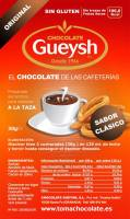 Chocolate Gueysh original sobre