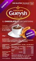 Chocolate Gueysh Intenso sobres