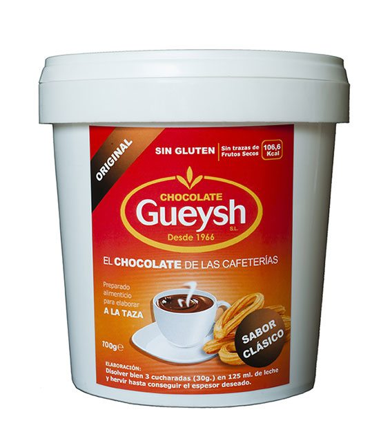 Chocolate Gueysh original 700grs