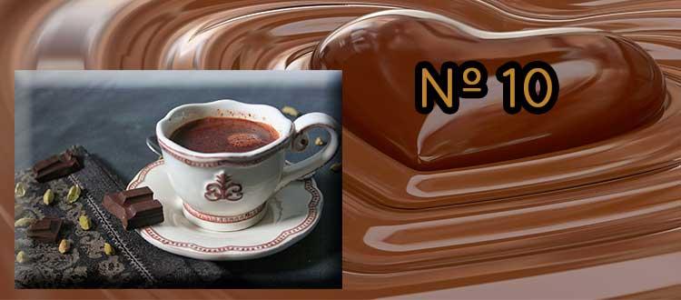 Receta de chocolate a la taza con cardamomo y canela