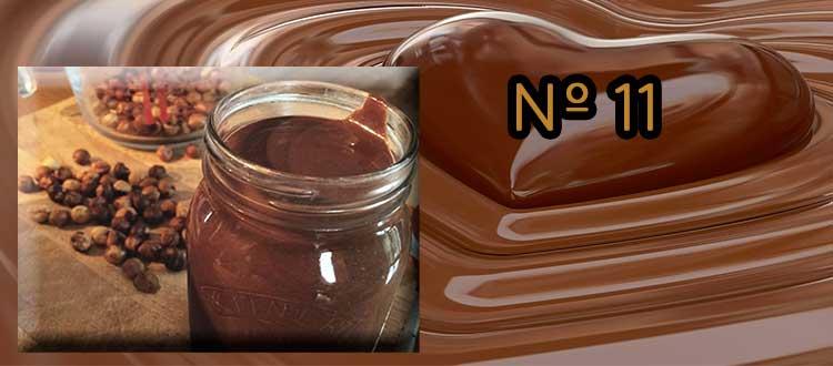 Receta de chocolate a la taza con avellanas y sésamo