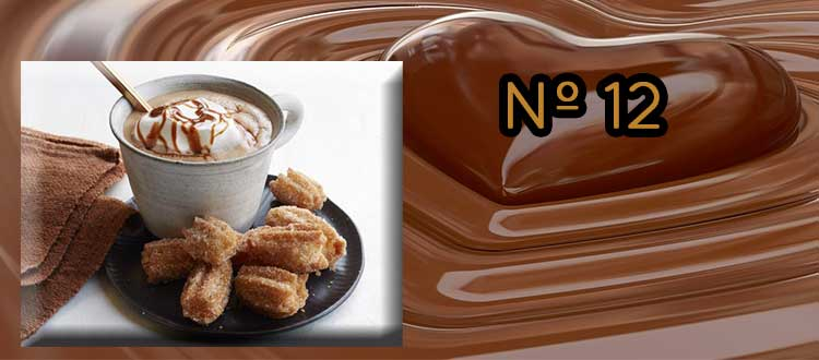 Receta de chocolate a la taza con dulce de leche.