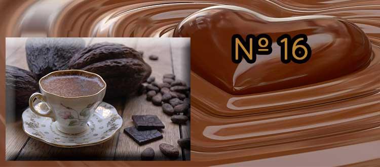 Receta de chocolate a la taza con café y vainilla