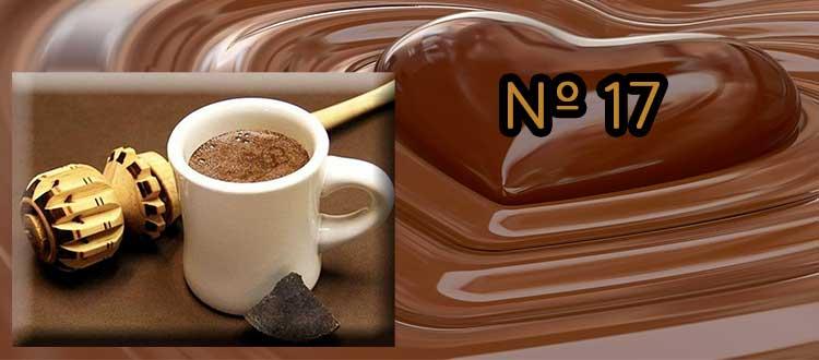 Receta de chocolate a la taza con té verde y Jengibre