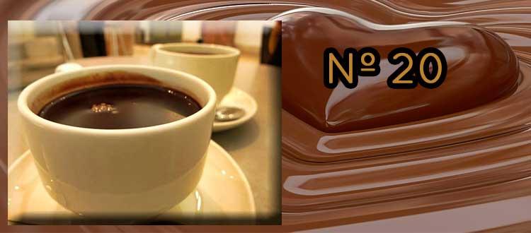 Receta de chocolate a la taza con té Puerh, vainilla y naranja