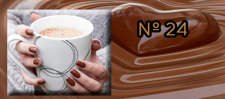 Receta de chocolate a la taza con te verde, Kiwi y cardamomo