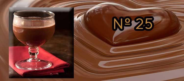 Receta de chocolate a la taza con naranja, lima y Gin Zarí