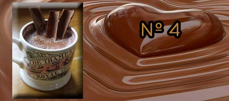Receta de chocolate a la taza con canela