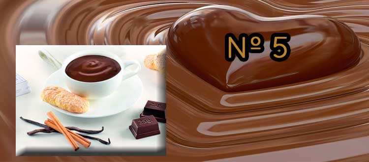 Receta de chocolate a la taza con vainilla