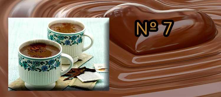 Receta de chocolate a la taza con té Puerh