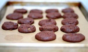 Galletas de chocolate horno