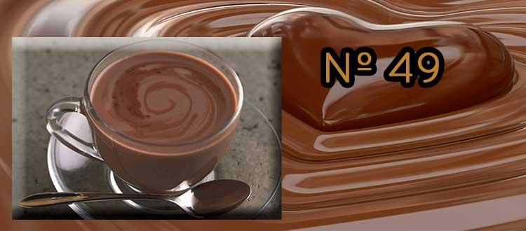 Receta de Chocolate a la taza con mostaza y lima.