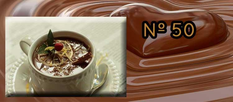 Receta de Chocolate a la taza con Lima y Cayena