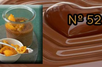 Receta de Chocolate a la taza con kumquat en almíbar Dekum