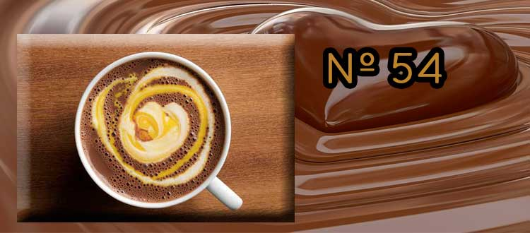 Chocolate a la taza con Canela y Crema de Vainilla.