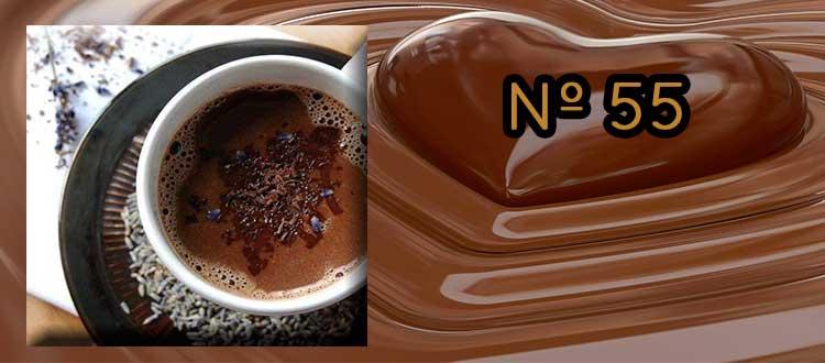 Chocolate a la taza sin azúcar con comino y canela