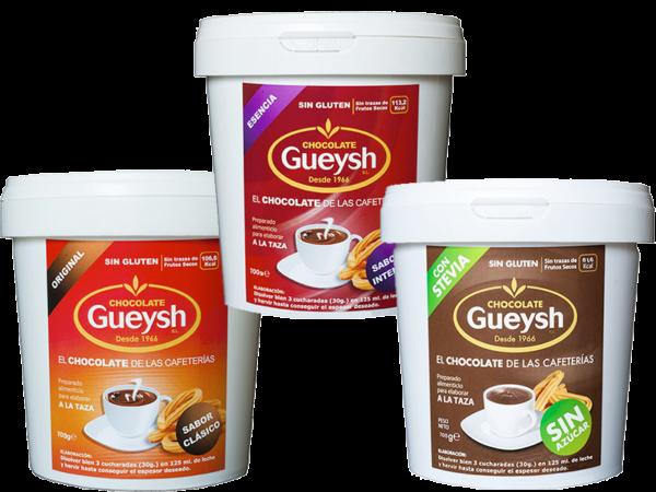 Chocolate a la taza Gueysh Portes Gratis